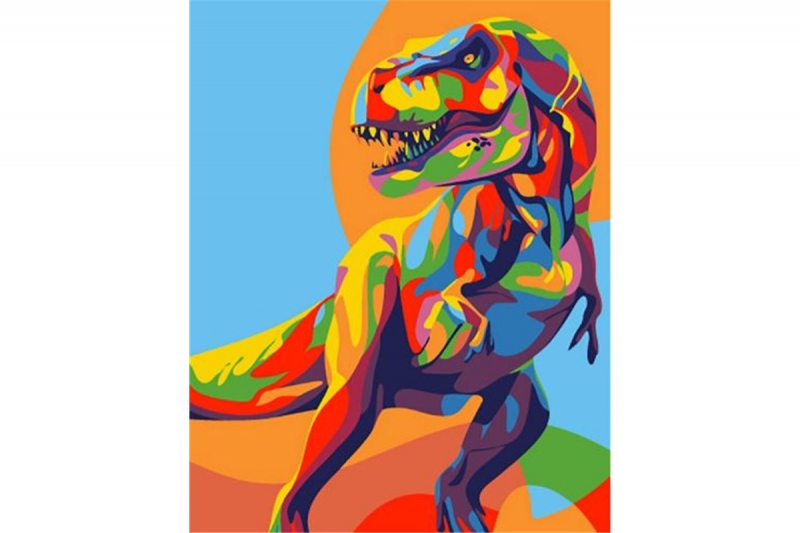 Радужный Динозавр