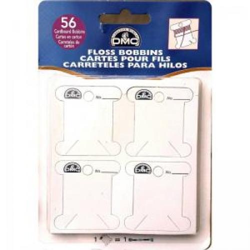 Бобины для намотки мулине картонные 56 шт DMC 6101/12