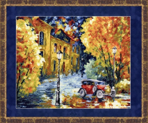 «Осенний марафон» по мотивам картины Л. Афремова