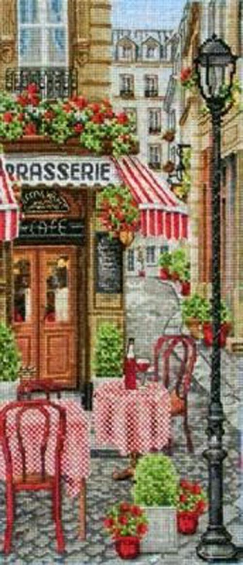French City Scene