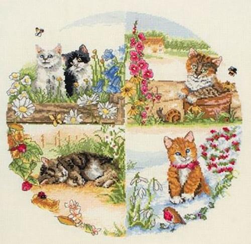Коты и сезоны