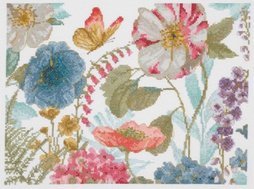 Dmc BL1166/76 Радуга семена цветы я набор для вышивания крестиком