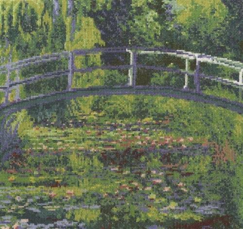 DMC Monet - Набор для вышивания пруда с водяными лилиями (BL1111 / 71)