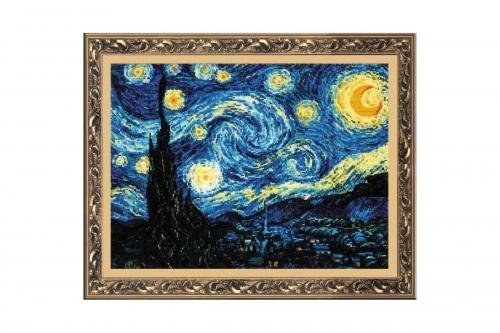 """""""Звездная ночь"""" по мотивам картины В. Ван Гога"""