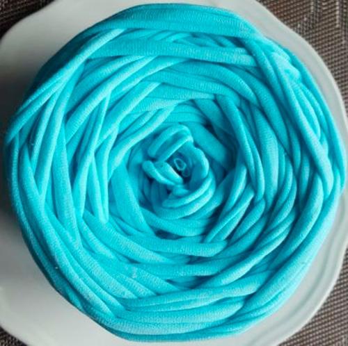 Трикотажная пряжа Цвет. Голубой