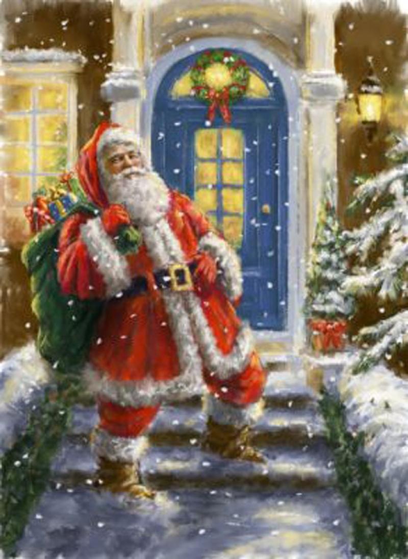 "Набор для вышивания ""Дед Мороз"" B563"