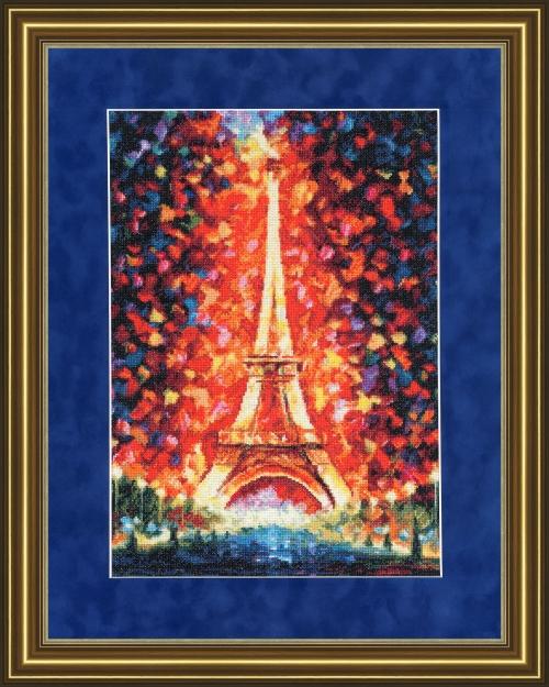 «Ночной Париж» по мотивам картины Л. Афремова
