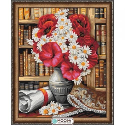 "Картина по номерам ""Библиотека"" 7С-0171"