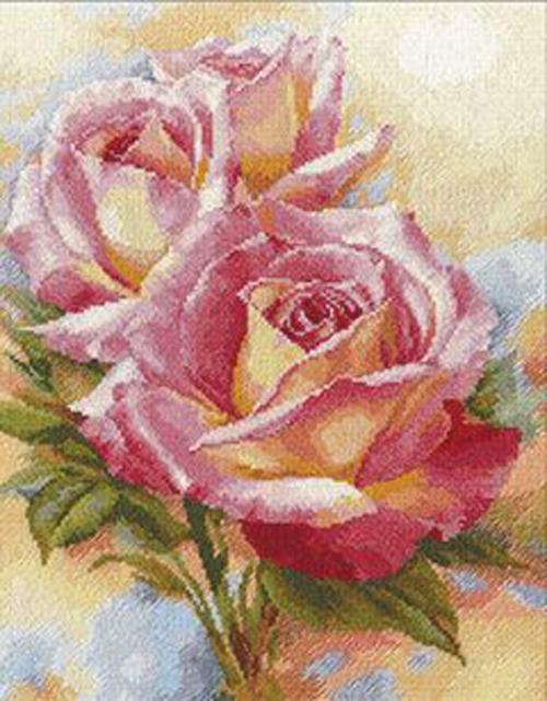 """Вышивка """"Розовые мечты"""" 2-31"""