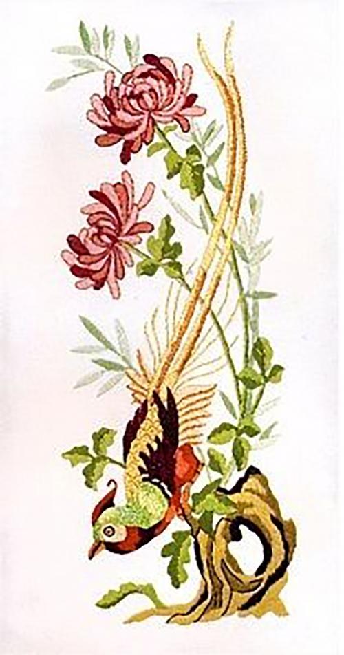 Винтажные хризантемы