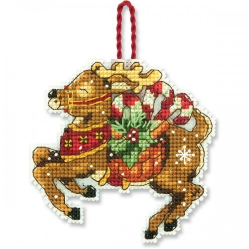 8916 Украшение «Северный олень» (Reindeer)