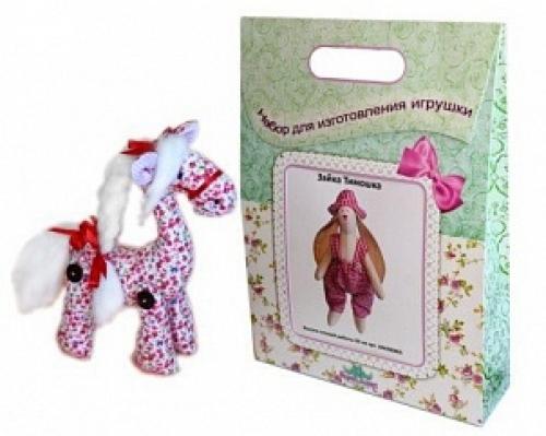 """Набор для изготовления текстильной игрушки """"Лошадка Красотка"""""""