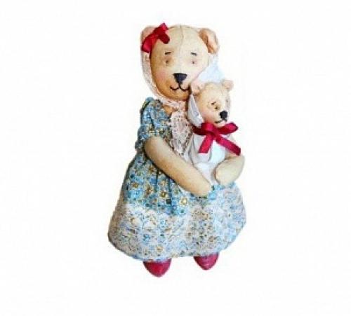 """Набор для изготовления текстильной игрушки """"Мишка Мама"""""""