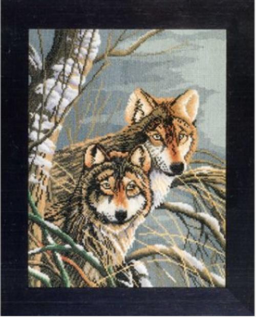 Волки арт. 1180/38007A