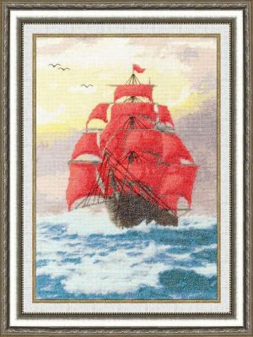 """Вышивка """"Алые паруса. Морские мотивы"""" ММ-015"""