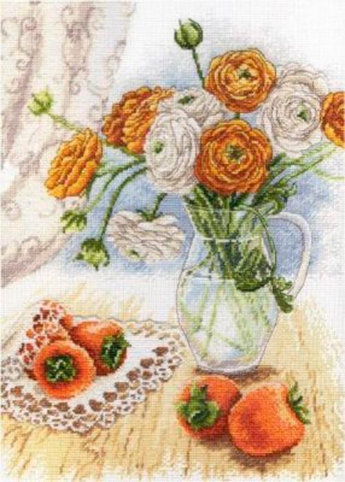 Букет садовых лютиков